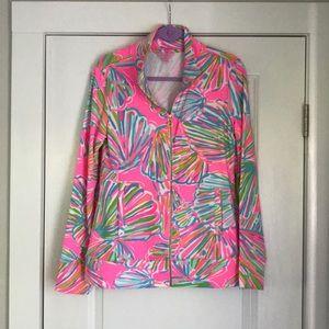 NWOT Lilly Pulitzer zip up jacket M